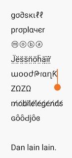 contoh nickname unik mobile legend