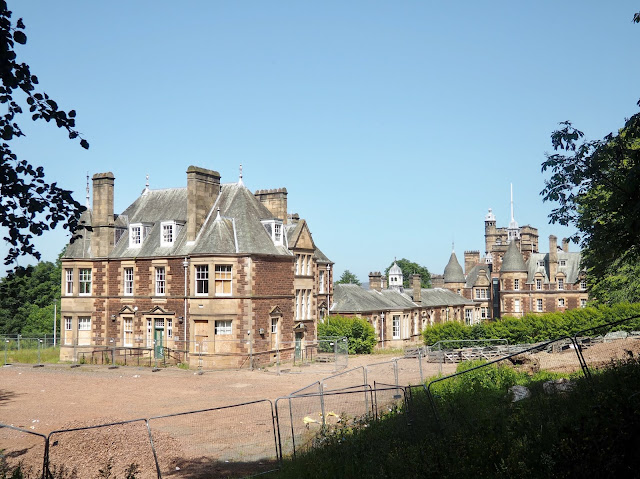 Renaissance buildings on Eastern Craiglockhart Hill, Edinburgh