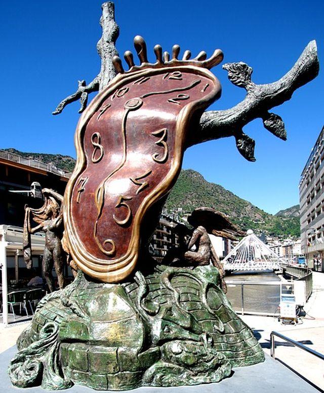Reloj de Salvador Dalí