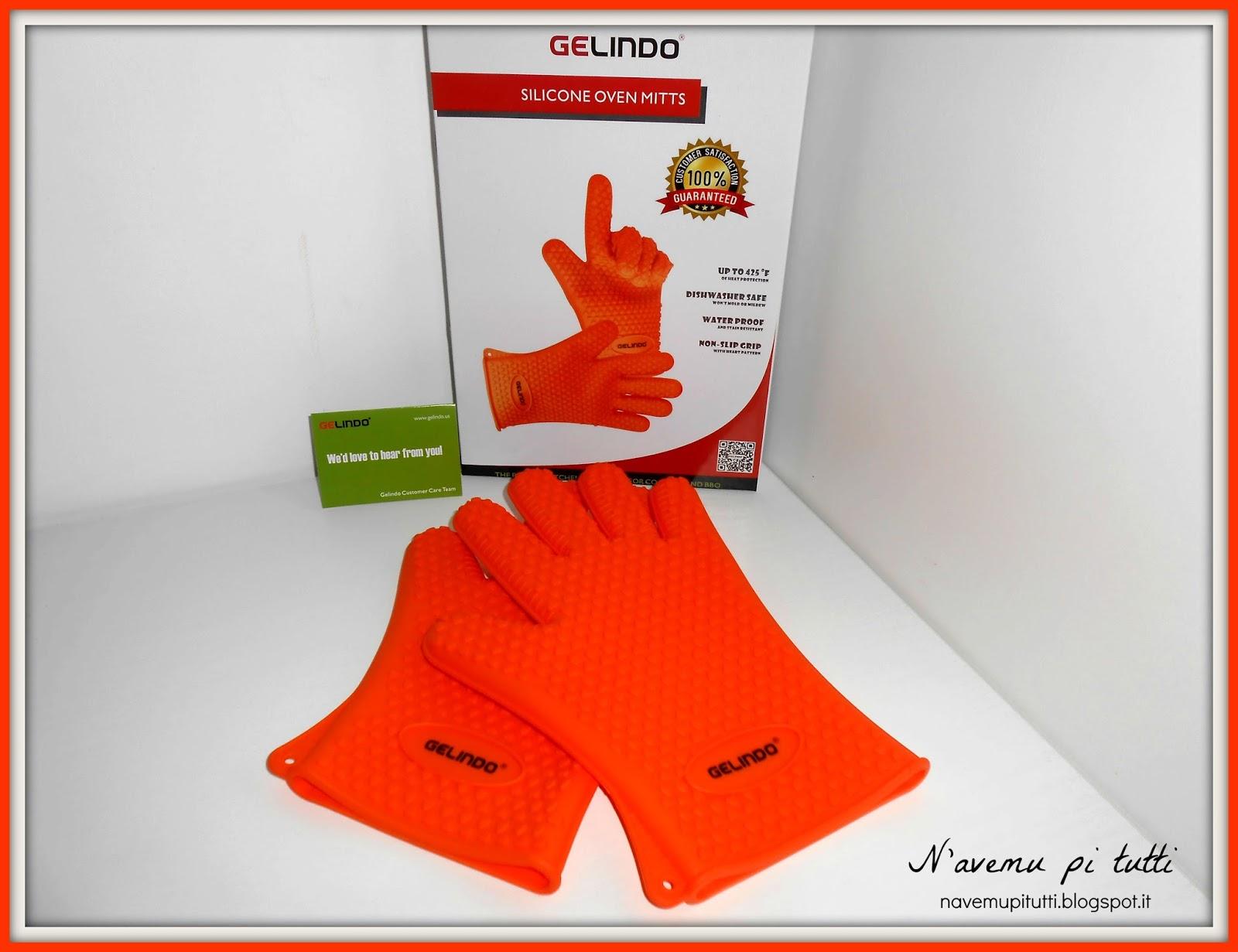 N 39 avemu pi tutti guanti da cucina in silicone gelindo - Guanti da cucina ...