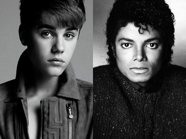 Justin Bieber, Michael Jackson