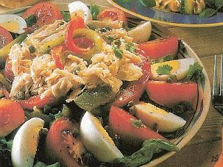 Tuniakovo rajčiakový šalát