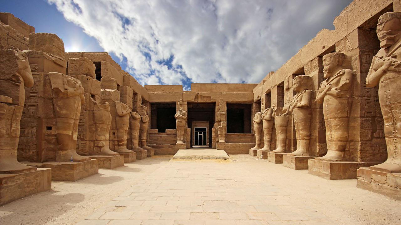 ¿Como era la arquitectura de los egipcios?