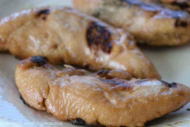 marinated grilled chicken tenders