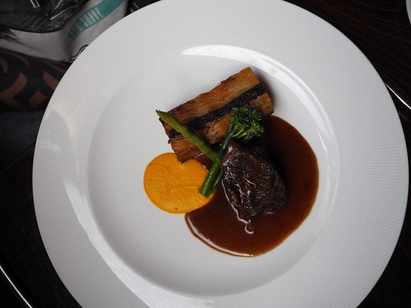 Beef and black pudding potato dauphinoise