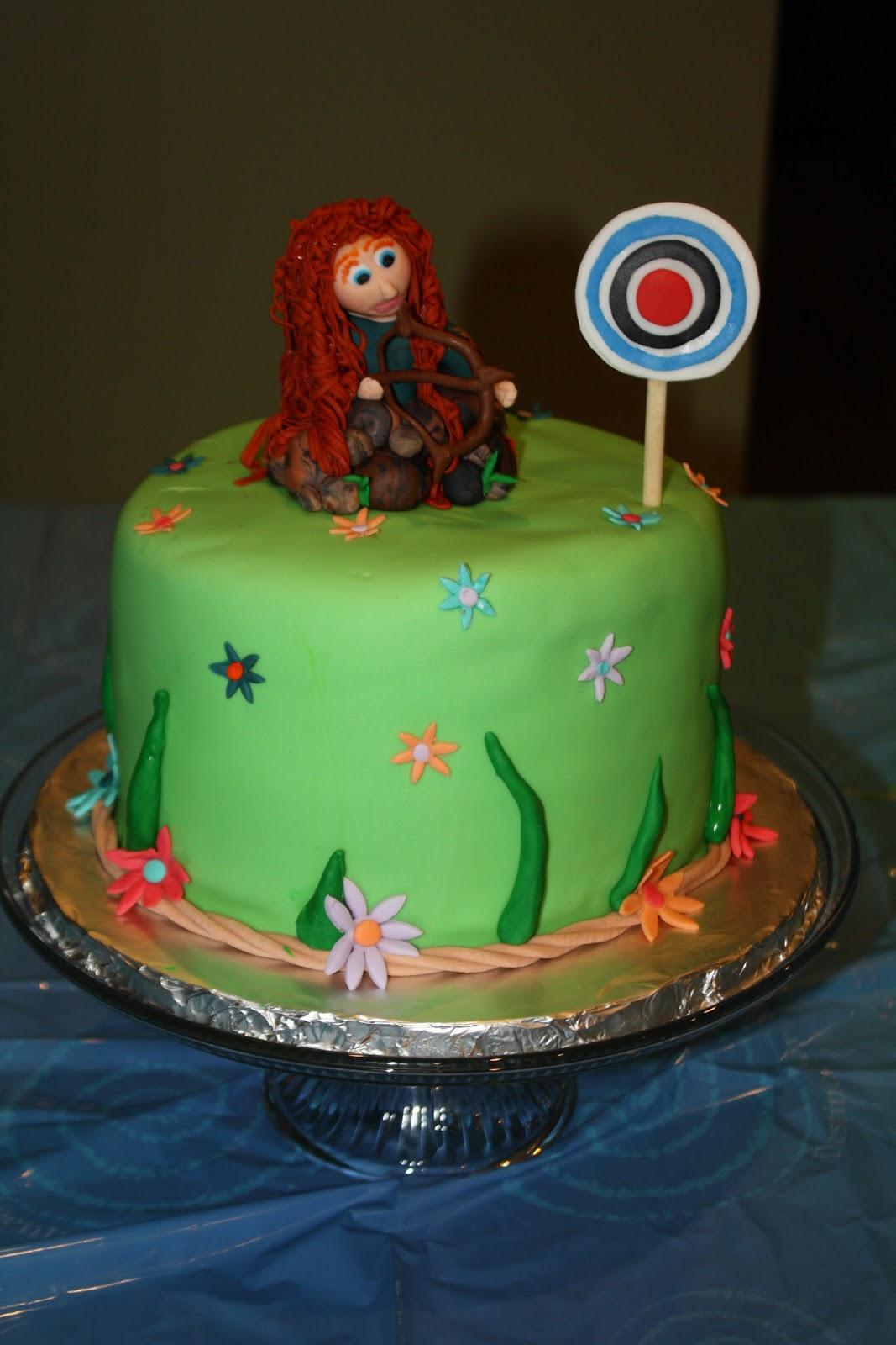 Hock Cakes Llc Brave Merida Cake