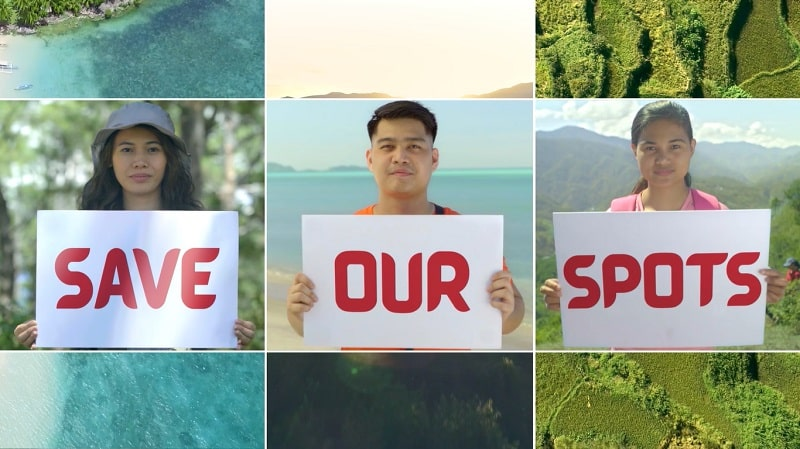 Department of Tourism (DOT) newest sustainability campaign - Save Our Spots (SOS)