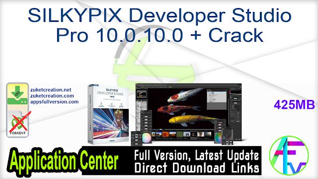 SILKYPIX Developer Studio Pro 10.0.10.0 + Crack