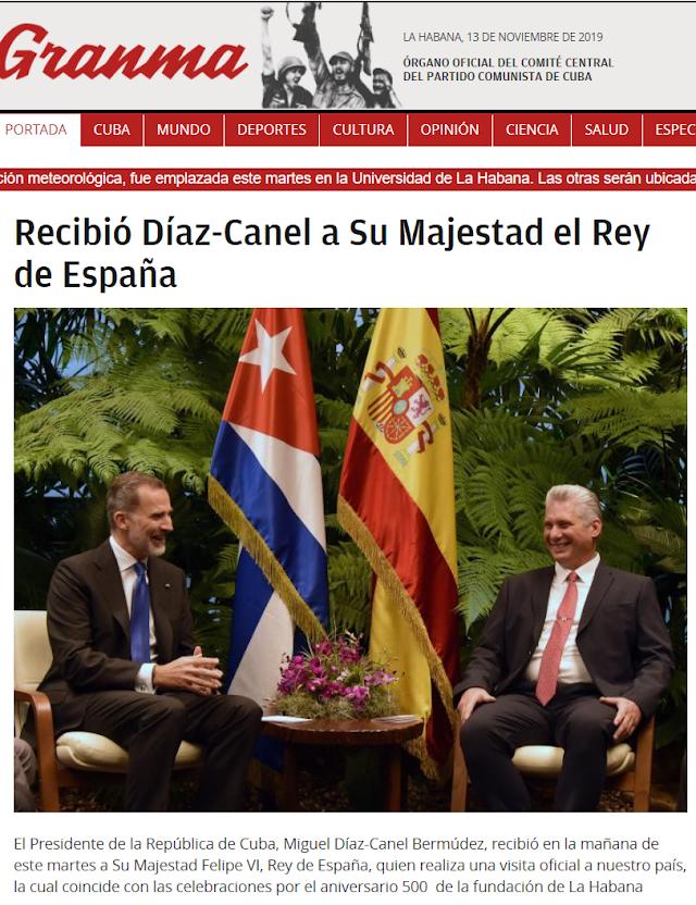 La Habana cumple 500 años con la primera visita oficial de un rey de España