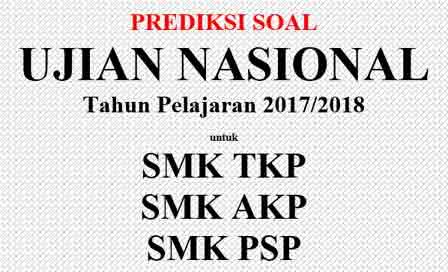 Contoh dan Prediksi Soal UNBK SMK Tahun 2017/2018