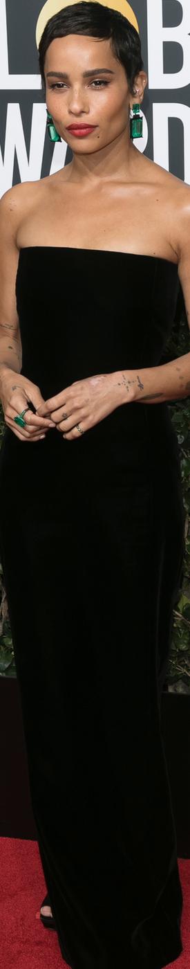 Zoë Kravitz 2018 Golden Globes