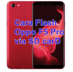 Cara Flash Oppo F5 Pro CPH1727 via SD carD