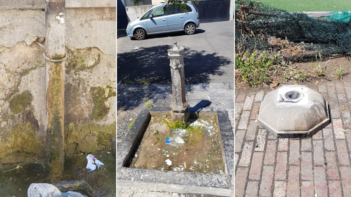 Cibali fontane pubbliche