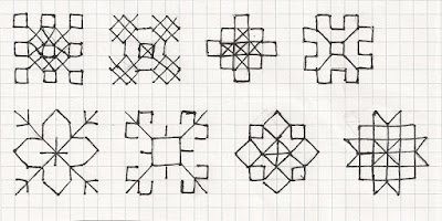 diaper patterns for spots or clusters