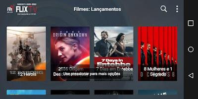 FlixTV APP para ver Peliculas y Series en Full HD