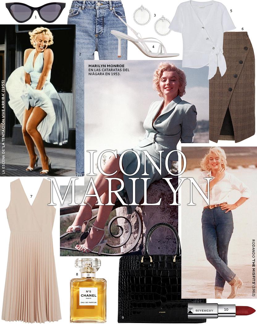 Así vestiría en la actualidad Marilyn Monroe