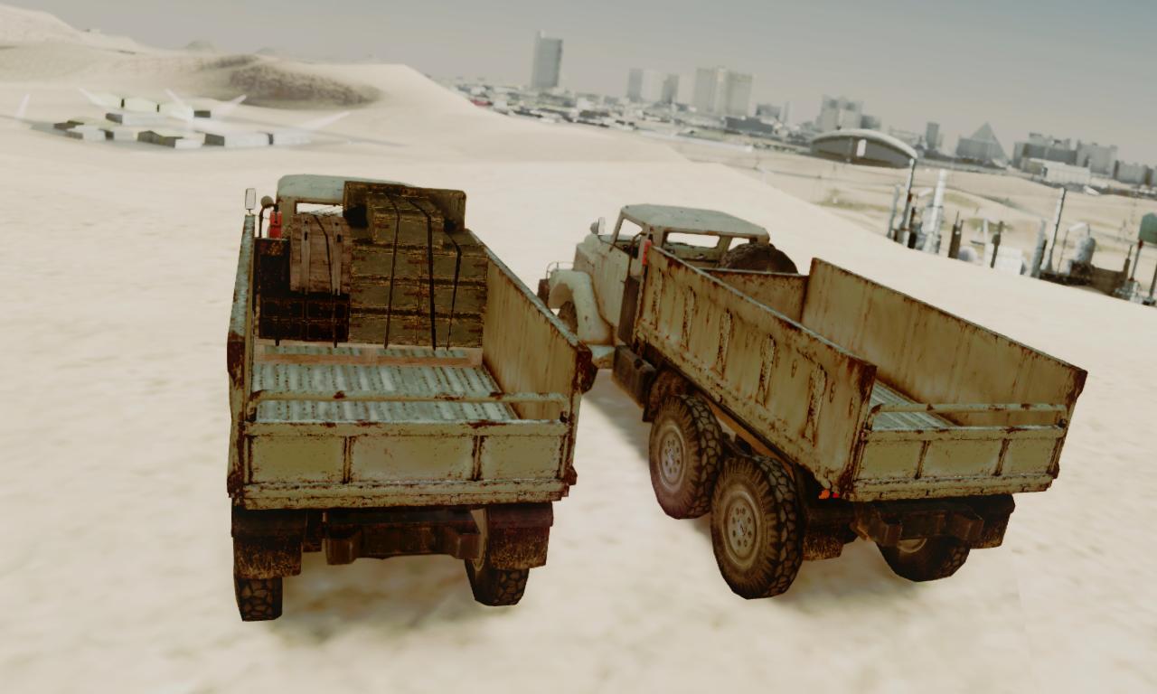gta mods metal gear solid v phantom pain zi gra 6t russian truck. Black Bedroom Furniture Sets. Home Design Ideas