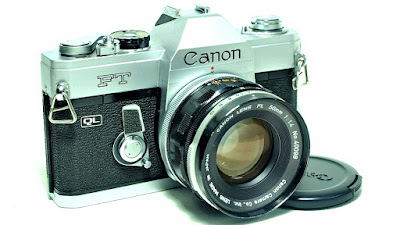 Canon FT QL (Chrome) Body #435, Canon FL 50mm 1:1.4 #098