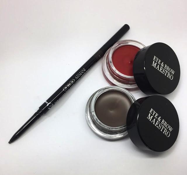 Giorgio Armani Eye and brow Maestro and Precision Brow Pencil
