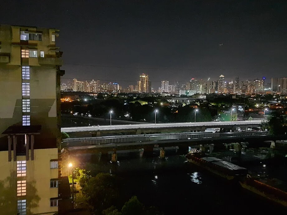 Samsung Galaxy M31 Camera Sample - Cityscape, Night Mode