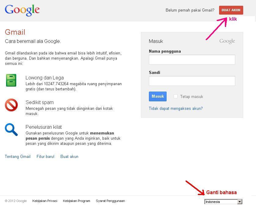 Cara Membuat Email Gratis Gmail - Tutorial Lengkap Bergambar