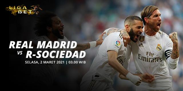 PREDIKSI PARLAY REAL MADRID VS REAL SOCIEDAD