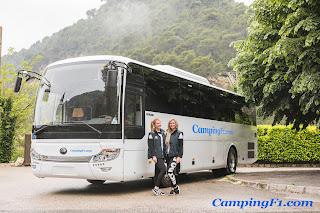 Coach service at Camping F1 Monaco
