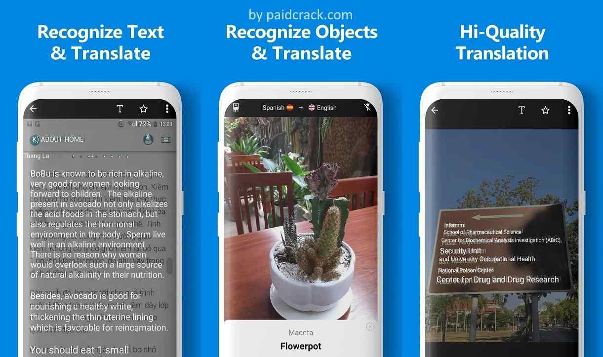 Camera Translator - translate photo & picture Pro Mod Apk 1.9.5