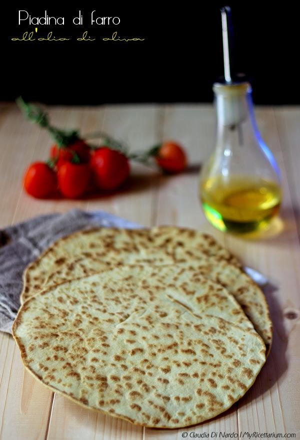 Piadina di farro all'olio di oliva