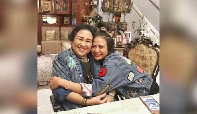 Rachmawati Soekarnoputri Meninggal, Vanessa Angel.lelemuku.com.jpg