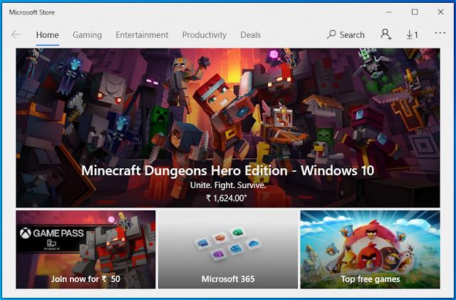 Microsoft Store.