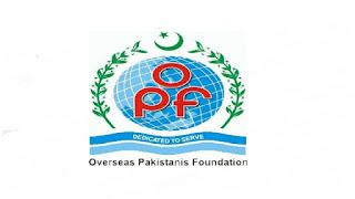 www.opf.org.pk Jobs 2021 - Overseas Pakistani Foundation Jobs 2021 in Pakistan