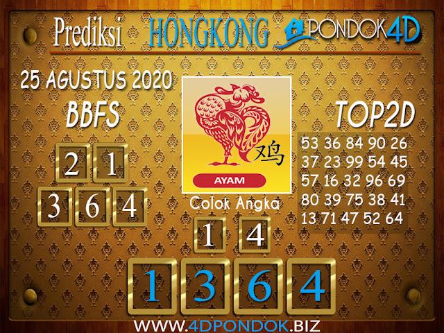 Prediksi Togel HONGKONG PONDOK4D 25 AGUSTUS 2020