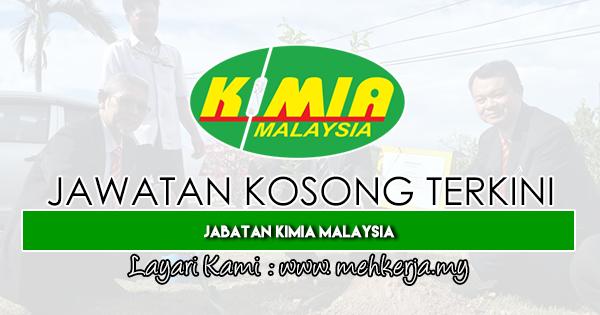 Jawatan Kosong Terkini 2019 di Jabatan Kimia Malaysia