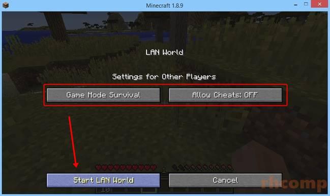 Cara Bermain Minecraft Multiplayer Dengan LAN