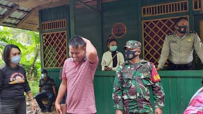 TIM GABUNGAN BERI SANKSI 50 WARGA TOMOHON LANGGAR PROTKES