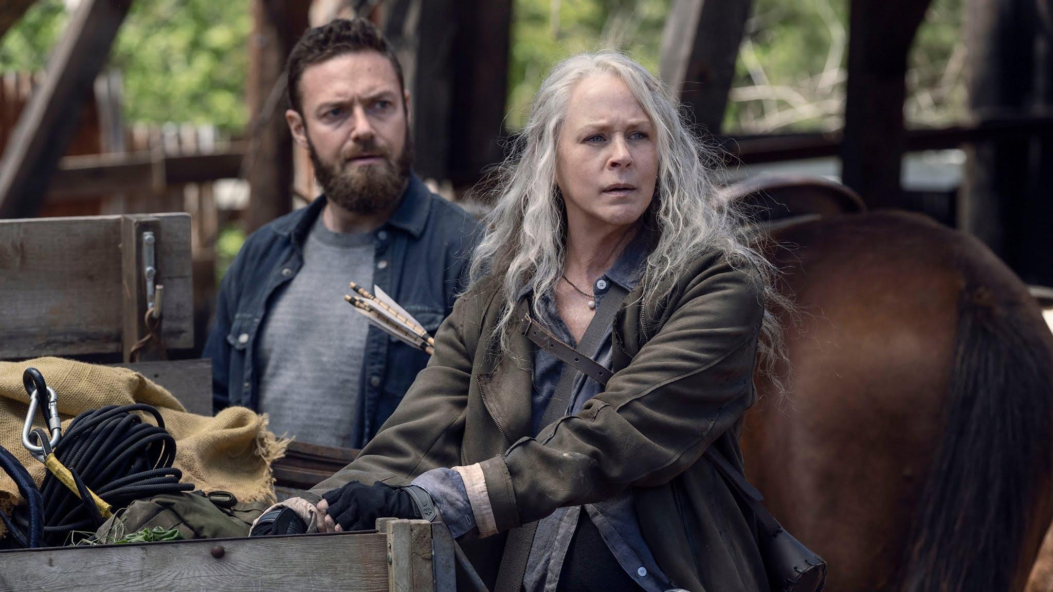 Aaron y Carol descubren que Connie está viva en el 11x05 de The Walking Dead