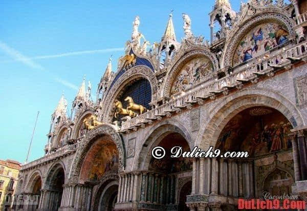 Basilica Mark-destination cannot fail to visit once when traveling to Venice, Italy