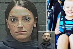 Mother is charged over murder of her two-year-old son 'after leaving him with her boyfriend'