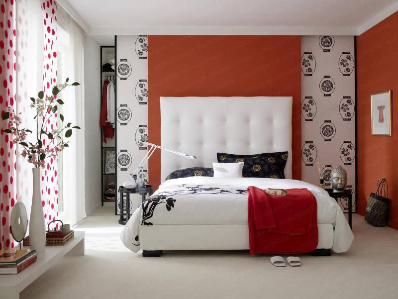 Dormitorios en rojo blanco y negro - Dormitorios colores y ...
