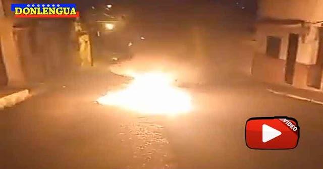 VENGANZA   Delincuentes quemaron viva a una joven de 17 años en El Guarataro