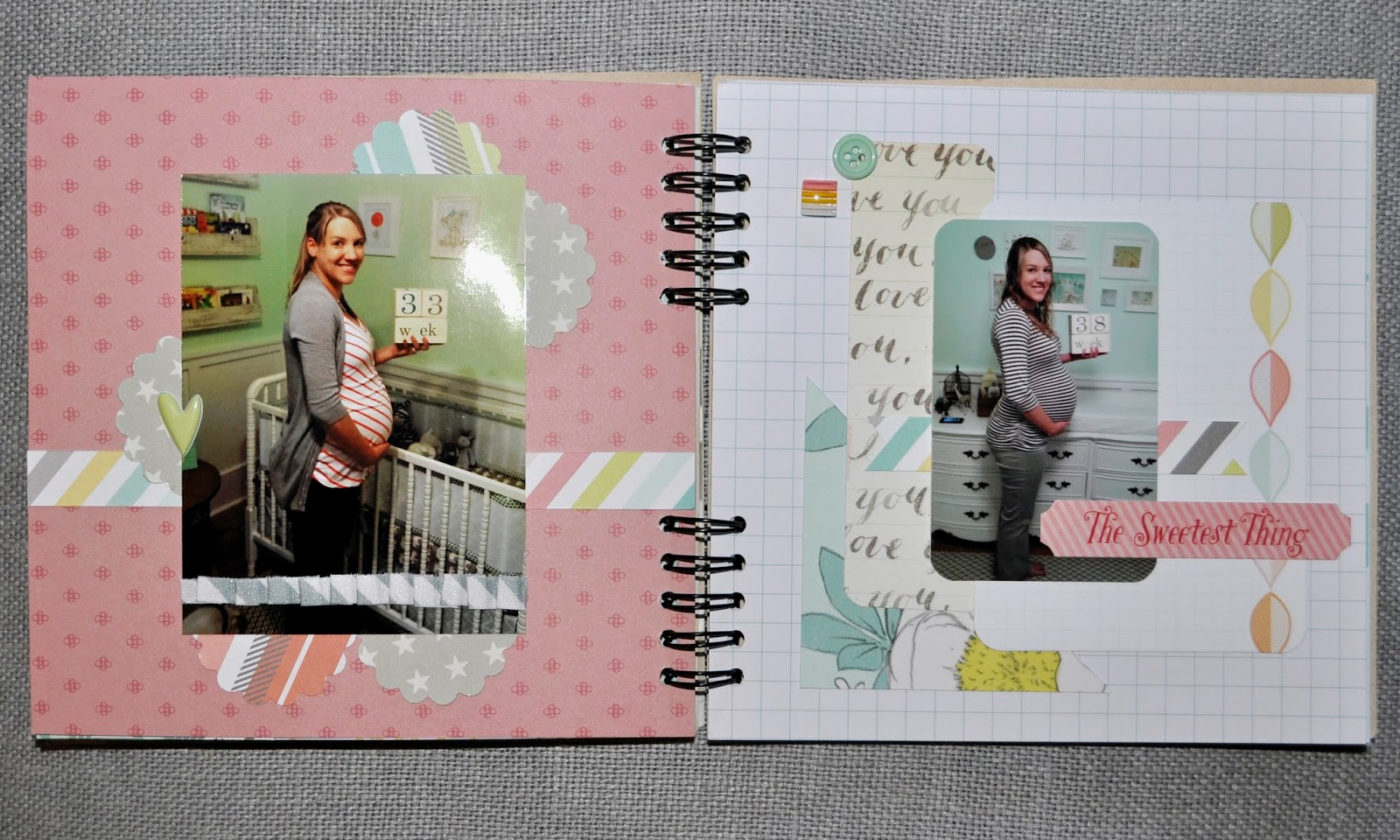 Album Gestalten Finding Beauty In Life Scrapbook Monday Pregnancy Mini