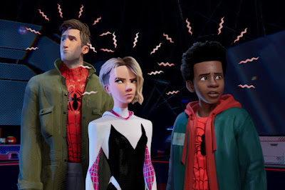 Spider-Man: Into the Spider-Verse 2018 movie poster Miles Morales Shameik Moore Jake Johnson Hailee Steinfeld