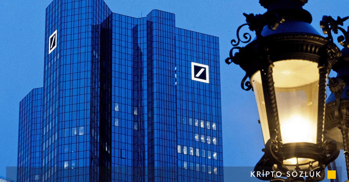 Deutsche Bank dijital para