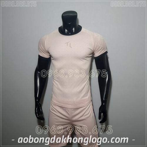 Áo bóng đá không logo TL Ya  màu hồng
