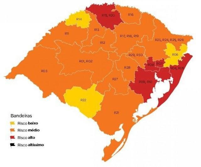 Cristal do Sul encaminha documentação ao estado pedindo a retirada do município da classificação de Bandeira Vermelha.