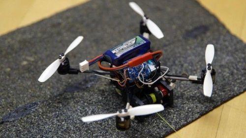 Terinspirasi Oleh Seekor Tawon, Sebuah Drone Mikro ini Bisa Mengangkat 40 kali dari beratnya