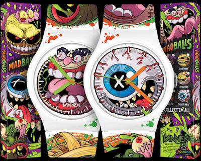 Madballs Oculus Orbus & Screamin Meemie Watches by Vannen Watches