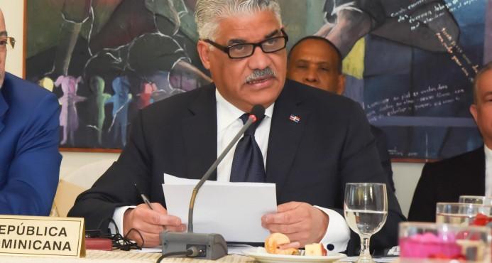 Vargas Maldonado trata la situación haitiana con secretario general de la ONU