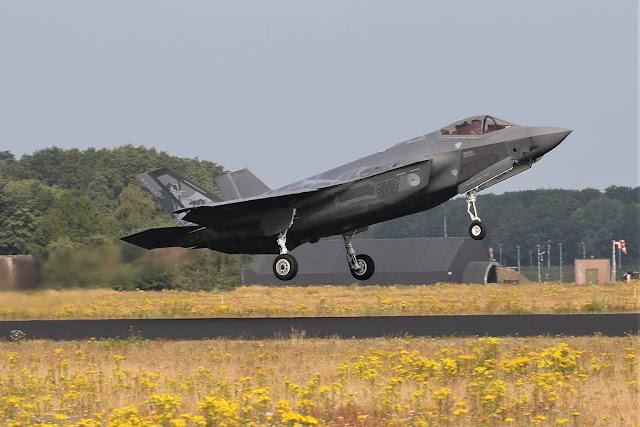 Dutch F-35 back to U.S.